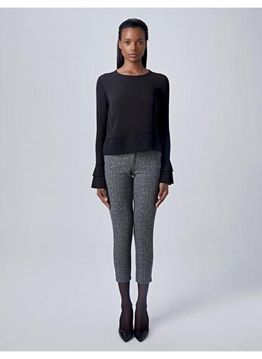 Huxel Bluz Siyah